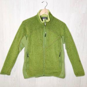 Patagonia | Green Polartec Zip-up Fleece Sz. L